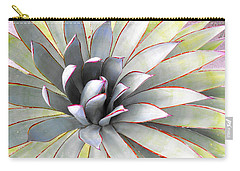 Carry-all Pouch featuring the photograph Aloe by Rebecca Margraf