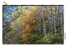 Carry-all Pouch featuring the photograph Along The Back Road by Vicki Pelham