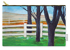 Along The Lane Carry-all Pouch