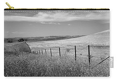Carry-all Pouch featuring the photograph Along The Line by Kathleen Grace