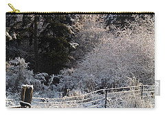 Carry-all Pouch featuring the photograph Along The Way by Rory Sagner
