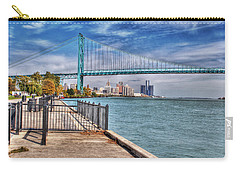 Ambassador Bridge Detroit Mi Carry-all Pouch