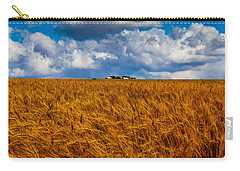 Amber Waves Of Grain Carry-all Pouch by Doug Long