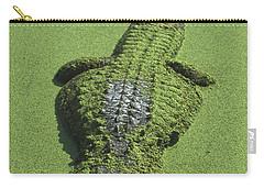 American Alligator Alligator Carry-all Pouch by Heidi & Hans-Juergen Koch