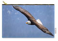 Carry-all Pouch featuring the photograph American Bald Eagle by Doug Lloyd