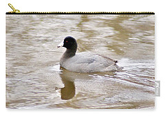 American Coot 1 Carry-all Pouch by Joe Faherty