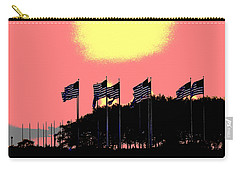American Flags1 Carry-all Pouch