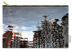 Carry-all Pouch featuring the photograph Amsterdam Reflections by Andy Prendy