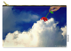And A Cherry On Top Carry-all Pouch by Methune Hively
