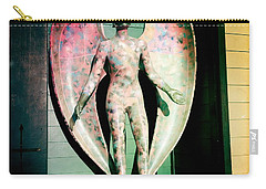 Carry-all Pouch featuring the photograph Angel In The City Of Angels by Nina Prommer