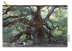 Angel Oak - Dont Climb Or Carve On The Tree Carry-all Pouch