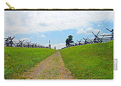 Carry-all Pouch featuring the photograph Antietam Battle Of Bloody Lane by Cindy Manero