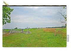 Carry-all Pouch featuring the photograph Antietam Battle Of The Cornfield by Cindy Manero