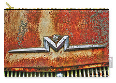 Antique Mercury Auto Logo Carry-all Pouch by Dan Stone