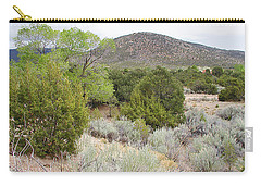 April New Mexico Desert Carry-all Pouch by Kathleen Grace