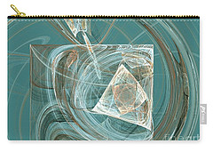 Aquaabstraction Carry-all Pouch