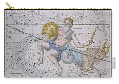 Aquarius And Capricorn Carry-all Pouch by A Jamieson