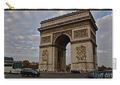 Carry-all Pouch featuring the photograph Arc De Triomphe by Eric Tressler