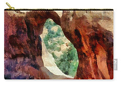 Arches National Park Carry-all Pouch by Michelle Calkins
