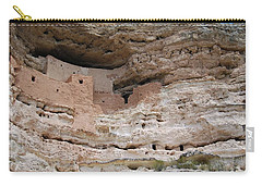 Carry-all Pouch featuring the photograph Arizona Cliff Dwelling by Judy Hall-Folde