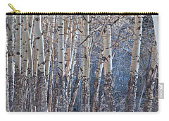 Carry-all Pouch featuring the photograph Aspen Grove by Colleen Coccia
