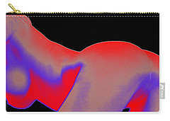 Carry-all Pouch featuring the painting Assology 6 by Tbone Oliver