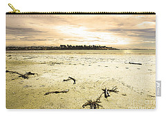 Carry-all Pouch featuring the photograph At Caroline Bay Timaru New Zealand by Nareeta Martin