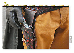 Carry-all Pouch featuring the photograph At The Ready by Bill Owen