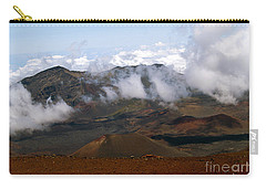 At The Rim Of The Crater Carry-all Pouch by Patricia Griffin Brett