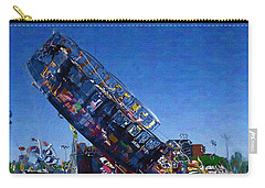Carry-all Pouch featuring the photograph At The Summer Fair by Mario Carini