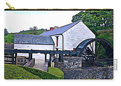 Carry-all Pouch featuring the photograph Auld Mill  by Charlie and Norma Brock