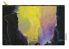 Carry-all Pouch featuring the painting Aurora by Cliff Spohn