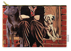 Australian Kelpie - A Dogs Life Movie Poster Carry-all Pouch