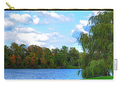 Carry-all Pouch featuring the photograph Autumn At Hoyt Lake by Michael Frank Jr