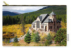 Carry-all Pouch featuring the photograph Autumn At St. Malo  by Jim Garrison