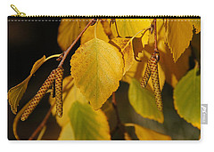 Carry-all Pouch featuring the photograph Autumn Birch In Southern Oregon by Mick Anderson