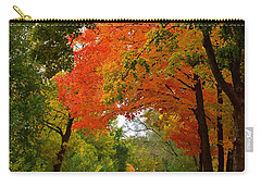 Autumn Canopy Carry-all Pouch by Sue Stefanowicz