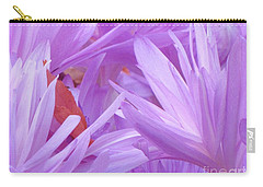 Autumn Crocus Carry-all Pouch