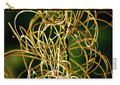 Carry-all Pouch featuring the photograph Autumn Fireweed by Albert Seger