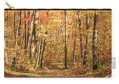 Carry-all Pouch featuring the photograph Autumn In Minnesota by Penny Meyers