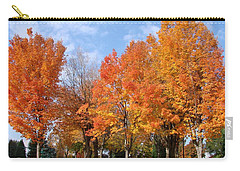 Autumn Leaves Carry-all Pouch by Athena Mckinzie