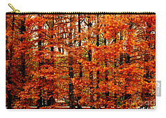 Autumn Red Maple Landscape Carry-all Pouch