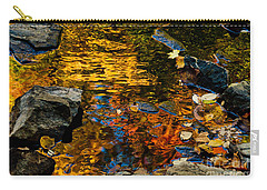 Autumn Reflections Carry-all Pouch by Cheryl Baxter