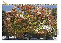 Autumn Snow Carry-all Pouch