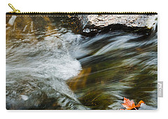 Autumn Stream Carry-all Pouch by Cheryl Baxter