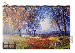Autumn Wheelbarrow Carry-all Pouch