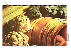 Carry-all Pouch featuring the photograph Autumn's Bounty by Sharon Duguay
