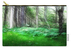 Carry-all Pouch featuring the photograph Avalon Forest Dreamscape by Mario Carini
