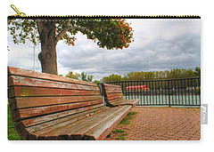 Carry-all Pouch featuring the photograph Awaiting by Michael Frank Jr