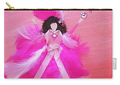 Carry-all Pouch featuring the painting Awareness by Alys Caviness-Gober